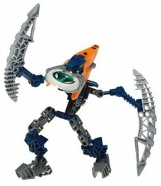 Lego Bionicle VAHKI Figure #8615 Bordakh (Orange Cap) by LEGO. $19.99. Bionicle. Closing in for the capture!  GaMetru is home to the Bordakh, the most cunning of all Vahki. The Bordakh love the chase and will sometimes delay a capture just to extend the thrill of pursuit. Their Staffs of Loyalty temporarily turn Matoran into spies for the Vahki. Includes Kanoka disk launcher and glowinthedark disk.