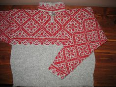 Classic pattern from Norway's craft cooperative.