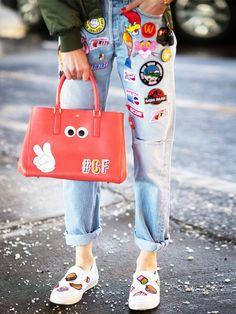 Patches sind auch bei Schuhen ein mega Trend dieses Jahr!