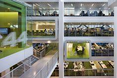 diversité des espaces de travail