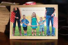 DIY Card / Envelope using 4x6 photo, washi tape, cardstock, brown lunch sack envelope.