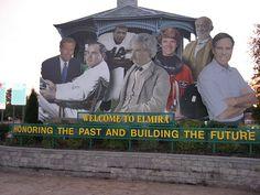 Elmira, NY...Brian Williams, Hal roach, Ernie Davis, Mark Twain, Eileen Collins, & Tommy Hilfiger