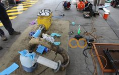 pipe relining equipment! done in sydney!