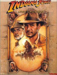 Indiana Jones Movie Poster   Indiana Jones and the Last Crusade
