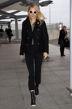 WHO: Gwyneth PaltrowWHAT: Stella McCartney shoesWHERE: London Heathrow AirportWHEN: December 3, 2013