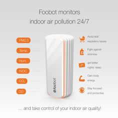 Foobot, Smart Indoor Air Quality Monitor: Amazon.co.uk: Kitchen & Home