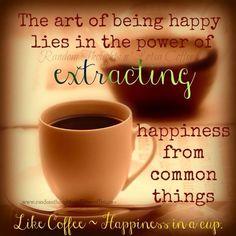 Coffee on Saturday 27 October 2013