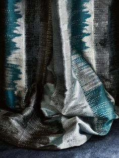Leon in teal by Jane Churchill