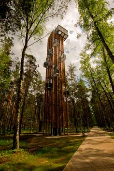 www.theydesign.net  ARHIS Architects: Observation Tower in Jurmala
