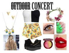 """""""My Fancy Outdoor Concert Look"""" by beautyqueenxcx on Polyvore"""
