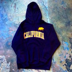 California golden bears  Men's navy hoodie with embroidered detail available in store and online at https//:www.bearbasics.com Follow us on Facebook @bearbasics/t-shirtorgy #bearbasics #cal #california #berkeley #ucberkeley #mensfashion #menstyle #menswear #potd #goldenbears