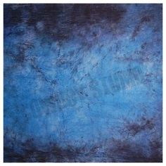 CowboyStudio Hand Painted 6 X 9ft Blue and Purple Muslin Photo Backdrop