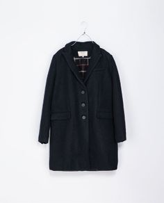 BUTTON COAT from Zara