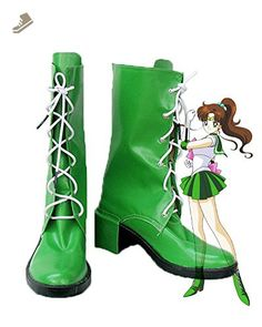 3009bfff75 Sailor Moon Sailor Jupiter Makoto Kino Cosplay Shoes Boots Custom Made 2     Find out more about the great product at the image link. (This is an  affiliate ...