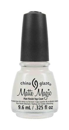 China Glaze Matte Magic Top Coat -- Click on the image for additional details. (Note:Amazon affiliate link)