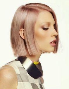 Cheveux en or rose! La tendance la plus chaude en coiffure!