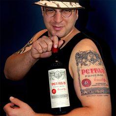 Il a le Château Petrus dans la peau ! Wine Tattoo, Matching Bff Tattoos, Wine Facts, Spirit Tattoo, Merlot Wine, Best Friend Tattoos, Margarita Recipes, Wine And Spirits, Wine Recipes