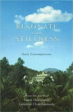 Resonate With Stillness ... A daily contemplation