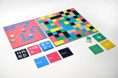 pxl: The Boardgame An interdisciplinary design project involving game and packaging design. Pnp Games, Board Game Design, Small Study, Box Design, Design Projects, Card Games, Packaging Design, Behance, Design Inspiration