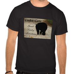 Cades Cove Black Bear T-shirt