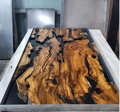 Olive epoxy resin table with Olive epoxy consol,live edge,epoxy river table,slab single table,resin Epoxy Wood Table, Epoxy Resin Table, Slab Table, Used Outdoor Furniture, Live Edge Furniture, Resin Furniture, Wood Table Design, Coffe Table, Wood Slab