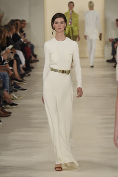 Ralph Lauren RTW Spring 2015 - Slideshow - Runway, Fashion Week, Fashion Shows, Reviews and Fashion Images - WWD.com