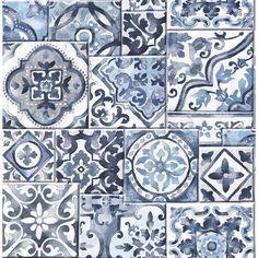 "Found it at AllModern - Marrakesh Mosaic 33' x 20.5"" Geometric Wallpaper"