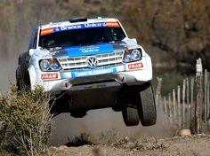 VW Amarok Rally Car
