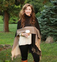 how-to-wear-a-blanket-scarf, how-to-wear-a-blanket-scarf-like-a-cape, how-to-wear-a-blanket-scarf-with-a-belt, how-to-tie-a-blanket-scarf, how-to-wear-a-blanket-scarf-different-ways, how-to-wear-a-blanket-scarf-like-a-poncho, apt-9-color-block-blanket-scarf, miss-me-dominique-cohen-fleur-de-lis-earrings, riding-boot-tommy-hilfiger, banana-republic-split-hem-boyfriend-sweater, how-to-wear-leggings,