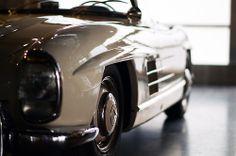 lines + curves - 1957 Mercedes-Benz 300SL Roadster (W198)