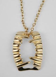 Vampire teeth necklace 4.95