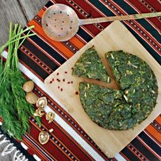 Kookoo sabzi, herb omelette and traditional Nowruz (Persian New Year) fare