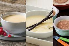 Crema inglesa, crema pastelera y natilla: en qué se diferencian, cómo se elaboran y para qué se usan Dessert Recipes, Desserts, Fondue, Mousse, Creme, Ethnic Recipes, Relleno, Pasta, Ideas
