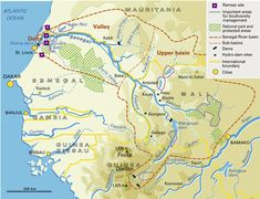 how navigable is the Senegal River - Yahoo Image Search Results Trail Maps, West Africa, Image Search, National Parks, Ocean, River, City, African, The Ocean