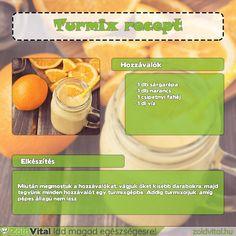 Egy finom narancs turmix receptje #narancs #turmix