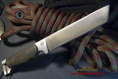Relentless Knives M3T Custom Military Survival knife. Flat Grind per customer request