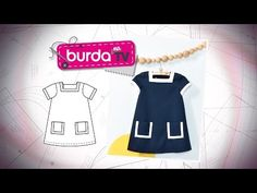 Burda na TV 111 | Vida com Arte | Vestido infantil - YouTube