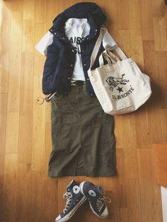 GUのジャケット/アウター「ライト中綿ベスト」を使ったハナマンのコーディネートです。WEARはモデル・俳優・ショップスタッフなどの着こなしをチェックできるファッションコーディネートサイトです。
