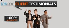 Find some of the success stories and #testimonials from real job seekers who are getting jobs in abroad...