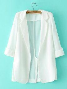 Individual Tailoring Lapel Ventilation Suit(White)