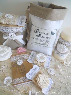 Passé Présent Recomposé: Lin, dentelle et fleurs en crochet...