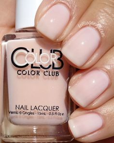 Brand: Color Club // Collection: Shift Into Neutral (2015) // Color: Blush Crush // Blog: KellieGonzo