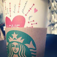 love and starbucks <3