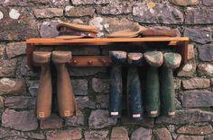Boot rack.