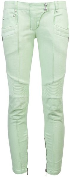 balmain Skinny Jean - Lyst--cool pants, but not in this color