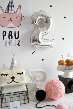 Little Kitten, la fiesta gatuna de Paula - All Lovely Party