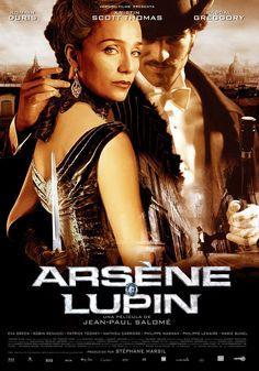 Arsène Lupin / Dir: Jean-Paul Salomé. Intèrprets: Romain Duris, Kristin Scott Thomas, Eva Green.