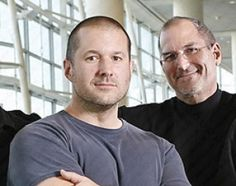 """Apple CEO Steve Jobs and design head Jonathan Ive are so close they are called """"Jives"""" around the Cupertino campus for short. Steve Jobs Apple, All About Steve, Computer Jobs, Steve Wozniak, Apple Inc, Working Together, Apple Products, Future Husband, The Man"""