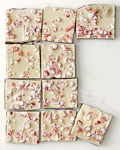 Our nostalgic peppermint bark is often copied but never matched in quality or flavor. The once-a-year favorite is crafted using the finest ingredients, including custom-blended Guittard chocolate and triple-distilled oil of peppermint. Holiday Treats, Christmas Treats, Holiday Fun, Holiday Recipes, Christmas Desserts, Christmas Recipes, Favorite Holiday, Christmas Cakes, Holiday Foods