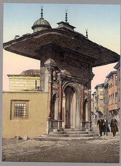 İstanbul-Entrée de la Mosque Ste. Sophie, Constantinople, Turkey (LOC)